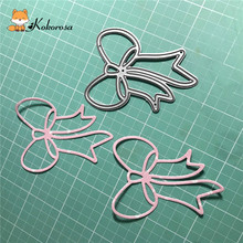 Kokorosa Cutting Dies Metal Bow-knot Die Scrapbooking Album Card Making Embossing Stencil Diecuts Decoration
