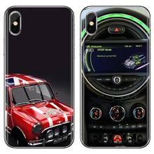 For Huawei G7 G8 P7 P8 P9 P10 P20 P30 Lite Mini Pro P Smart 2017 2018 2019 car mini cooper jcw Slim Silicone Soft TPU Phone Case(China)