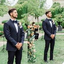 Blazer Jacket Tuxedos Wedding Custom-Made Smart Lapel Groom Peaked Party-Prom Fromal
