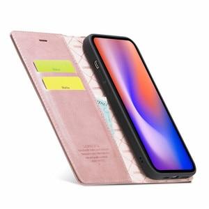 Image 4 - Per Iphone 12 Mini custodia su Iphone 11 Pro Max custodia custodia a portafoglio Super magnetica per Iphone X XR Xs 6 6s 7 8 Plus SE 2020 custodie