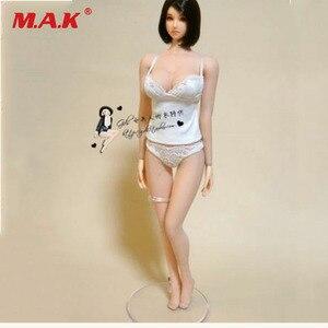 1/6 масштабные женские белые кружевные трусы, набор модельных аксессуаров, подходит для фигуры 12 дюймов