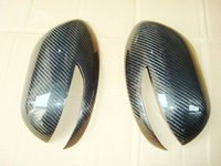 Car styling For Legacy 07 08 Carbon Fiber Mirror Cover Glossy Finish Side Rear View Trim Fibre Drift Racing Body Kit Tuning Part