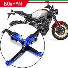 Dla Yamaha MT07 Tenere 700 XSR700 MT 07 FZ07 MT 07 FZ 07 2018 2019 2020 części zamienne do motocykli dźwignie hamulcowe składane wysuwane dźwignie sprzęgła