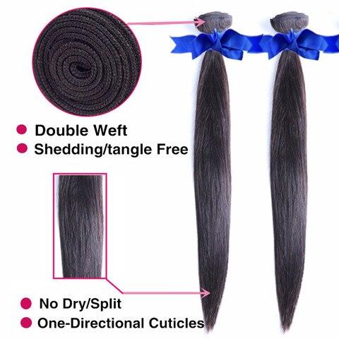 Bling Hair 10 Bundles Deals Brazilian Hair Weave Bundles Straight Human Hair Bundles Remy Extensions Natural Color Free Shipping Karachi