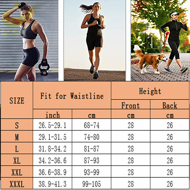 LAZAWG Neoprene Sauna Waist Trainer Corset Sweat Belt for Women Weight Loss Compression Trimmer Workout Fitness Hot Thermo Girdl 5
