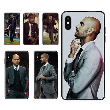 World Famous Pep Guardiola Future Black Soft TPU Phone Cover Case For Huawei P8 P9 P10 P20 P30 P40 Lite Plus Pro 2017 P Smart image