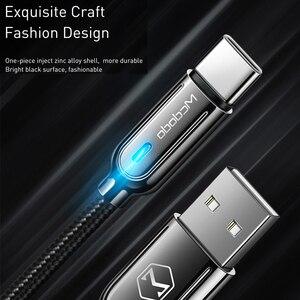 Image 5 - 10 יח\חבילה Mcdodo USB סוג C 3A אוטומטי ניתוק כבל לסמסונג גלקסי S10 S9 מהיר טעינה עבור HUAWEI טלפון USB C מטען חוט