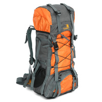 60L large capacity outdoor shoulder sports bag waterproof nylon mountaineering bag hiking backpack travel bag
