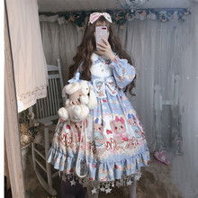Sweet lolita dress vintage lace bowknot peter pan collar puff sleeve high waist victorian dress kawaii girl gothic lolita op cos sweet custom tailored rococo lolita dress classic vintage floral printed short sleeve midi dress with lace ruffles by miss point