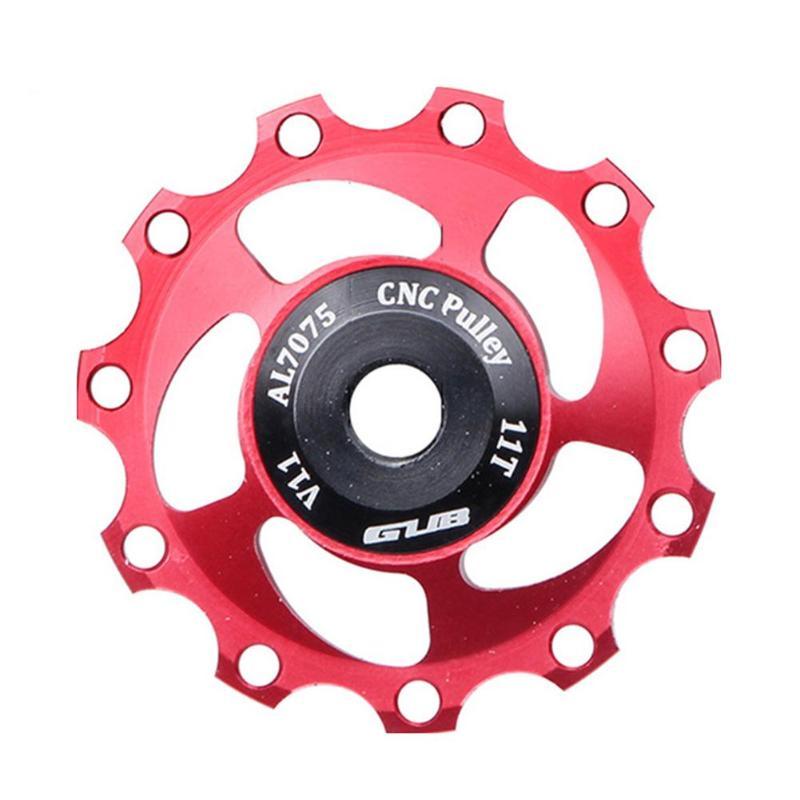 11T Bicycle Accessory Bike Rear Derailleur Jockey Wheel Guide Roller Pulley Hole