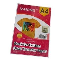 A4 a3 tamanho sublimação e papel de transferência térmica para camiseta de algodão
