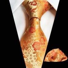 New Hot Sale Plum Multicolor Men's Tie Square Towel Set Fash