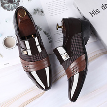 Fashion Slip-On Mens Dress Formal Shoes Men Oxfords Business Men Casual Shoes 2020 Summer Classic PU Leather Men's Suits Shoes northmarch spring autumn new mens business dress shoes fashion slip on tassel leather wedding shoes men handmade work shoes
