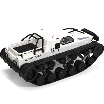 1/12 2.4G Drift RC Tank Car High Speed Full Proportional Control Vehicle Model Toy EM88