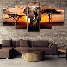 Постер на стену с изображением диких животных художественные
