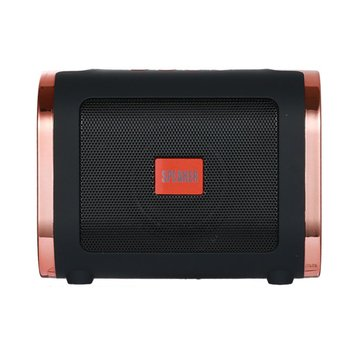 T12 Portable Wireless Speaker Stereo Sound Box Outdoor Mp3 Music Loudspeaker Support TF Card Fm Hands-Free Talk image