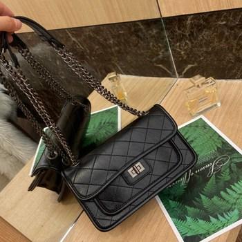 Classic Quality Crossbody Bag for Women 2020 Trend One Shoulder Messenger Chain Bags Ladies Fashionable Purses Channels Bolsa Gg недорого