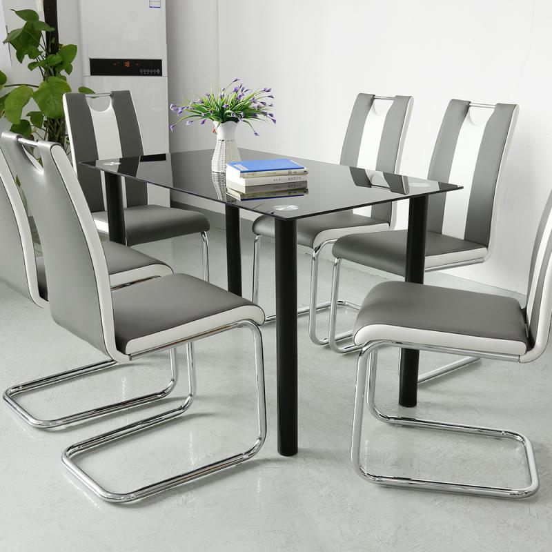 2PCS Modern Simplicity Dining Chair Living Room Leisure Chair Tea Coffee Chair Home Study Bedroom Chair Home Furniture HWC