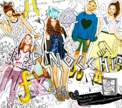 [MYKPOP]~100% OFFICIAL ORIGINAL~ F(x) FX Album 1: P I N O C C H I O, KPOP Fans Collection - SA19101506