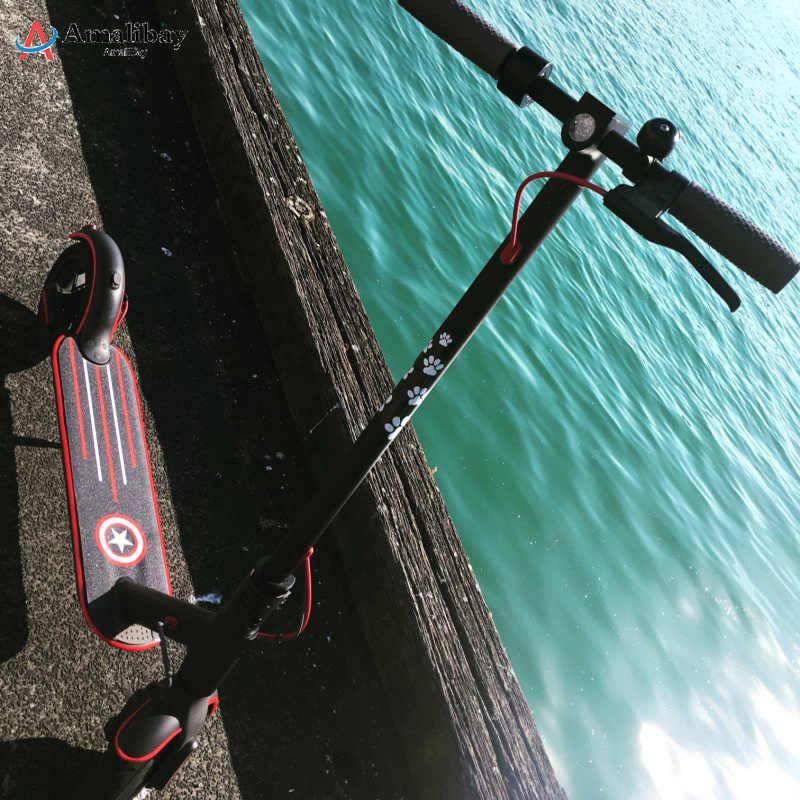 Scooter elettrico Bumper di Protezione Del Corpo Strisce di Nastro Adesivo per Xiaomi Norma Mijia M365 Pro di Skateboard di Scooter Parti Strisce Decorative