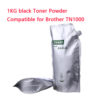 1KG polvo de tóner negro Compatible para hermano TN1000 TN1030 TN1050 TN1060 TN1070 tono HL-1110 1112 1202R impresora
