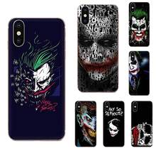 Horror Movie Joker Why So Serious For Apple iPhone 11 Pro X XS Max XR 4 4S 5 5C 5S SE 6 6S 7 8 Plus High Quality Multi Colors(China)