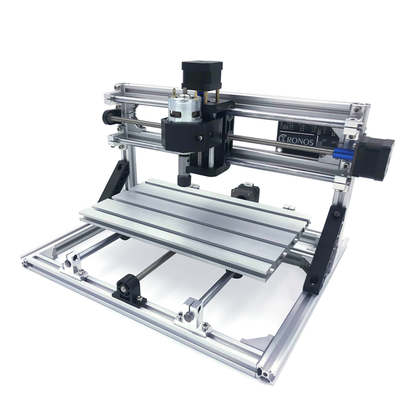 Mini CNC 2418 Laser Engraving Machine Wood Router With GRBL Control With Laser Head Or Not For Pcb PVC Milling