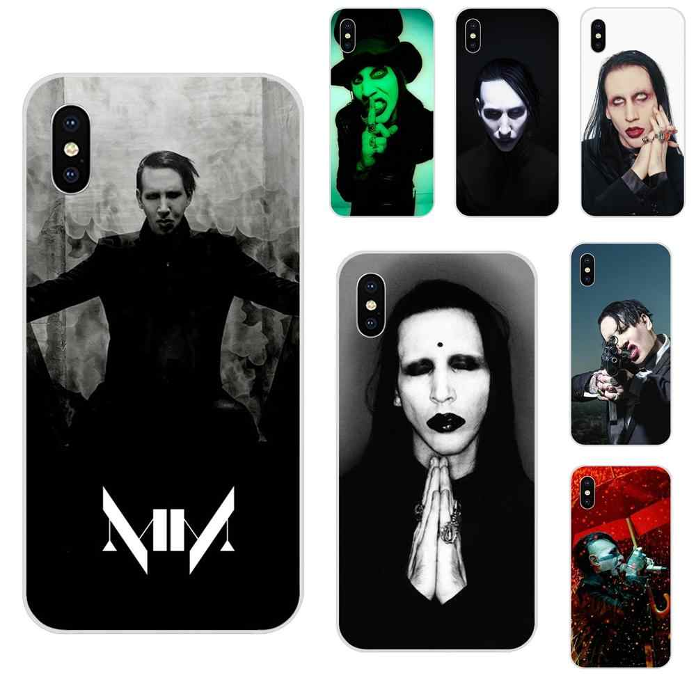Marilyn Manson Mobile For HTC Desire 530 626 628 630 816 820 830 One A9 M7 M8 M9 M10 E9 U11 U12 Life Plus TPU Cute Skin