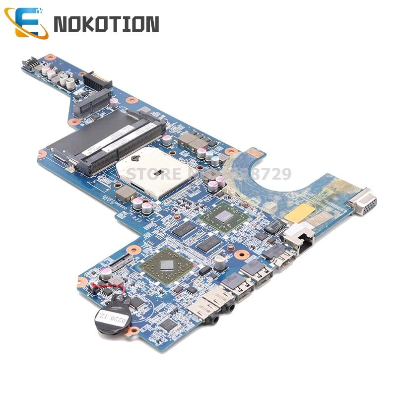NOKOTION 649950-001 DA0R23MB6D1 Laptop Motherboard For Hp Pavilion G4 G6 G7 HD 6470 DDR3 G7-1000 R23 Socket FS1 MB Main Board