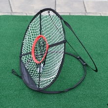 Golf Chipping Net Outdoor Foldable Pitching Cages Mats Indoor Golfing Target For Practice Party Training Aids