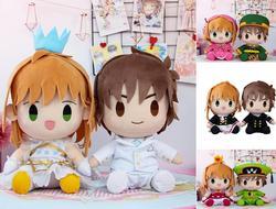 Cardcaptor Sakura figuur pluche pop speelgoed Card Captor Sakura LI SYAORAN Valentijnsdag Dressup Pluche speelgoed bruiloft pluche gift