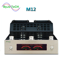 M12 HIFI High Power amplifier Audio Stereo home Bass AMP Bluetooth Vacuum Tube amplificador support USB DVD MP3 220V or 110V