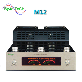 M12 HIFI High Power amplifier Audio Stereo home Bass AMP Bluetooth Vacuum Tube amplificador support USB DVD MP3 220V or 110V finished el34 vacuum tube amplifier stereo hifi single ended class a power amp 5z4p rectifier 6n2 tube amplifier