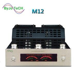 Image 1 - M12 HIFI Khuếch Đại Công Suất Cao Âm Thanh Stereo Nhà Bass AMP Bluetooth Ống Chân Không Amplificador Hỗ Trợ USB DVD MP3 220V hoặc 110V