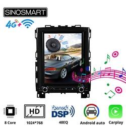 Sinosmart HD Screen Tesla Style Car Gps Navigation Player for Renault Megane 4 Radio Samsung Koleos