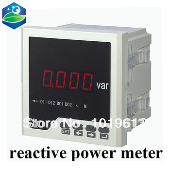 single phase reactive power meter power factor meter watt 96*96 LED display
