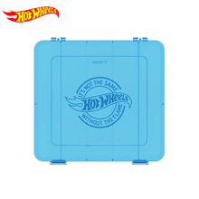 Original Hot Wheels Car Toys  Plastic Storage Box for Diecast Hotwheels Car for Boys Hot Toys Juguetes Kids Toy Gift