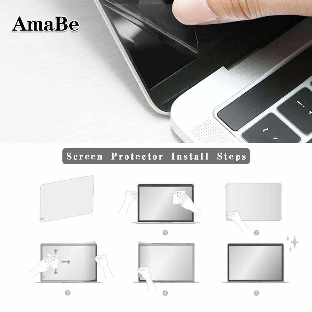 Layar Pelindung Guard Cover Film untuk Apple MacBookPro 13 1708 A1706 A1989 A1932 Anti Gores Layar Transparan Pelindung