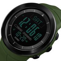 Herren Smart Uhr Wasserdichte Multifunktions Kompass Outdoor Uhr Farbe Strap Männer Sport Uhren für Laufende Schrittzähler-in Digitale Uhren aus Uhren bei