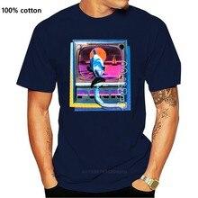 Camiseta de impressão preta do tubo do golfinho dos homens cor-de-rosa nwt s m l xl respirável topos camiseta