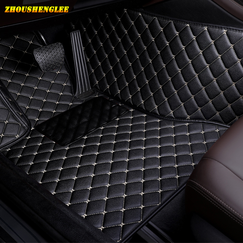 zhoushenglee Custom car floor Foot mat For <font><b>suzuki</b></font> <font><b>grand</b></font> <font><b>vitara</b></font> 2008 jimny sx4 swift car accessories waterproof carpet rugs image
