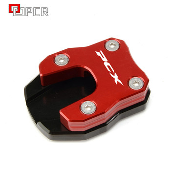 Motorcycle CNC Side stand extension Kickstand Plate Pad For HONDA PCX 125 PCX 150 PCX125 PCX150 2018 2019 image