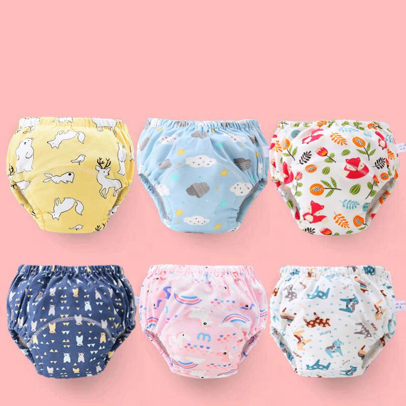 3pcs/set Newborn Washable Diaper Cloth Diaper Cover Adjustable Nappy Reusable Cloth Diapers Available Waterproof Baby Pampers