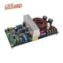 """GHXAMP placa amplificadora para Subwoofer amplificador Mono Clase D para altavoces de Subwoofer de más de 10 """"y 12"""", bricolaje, DC Dual 55V, 500W"""