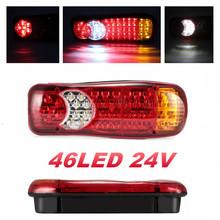 1PCS LED Tail Lights Caravan Truck Light 24v LED Lights Trailer Light Truck Lighting 64 LED Rear Lights Lanterns For Trailer cheap