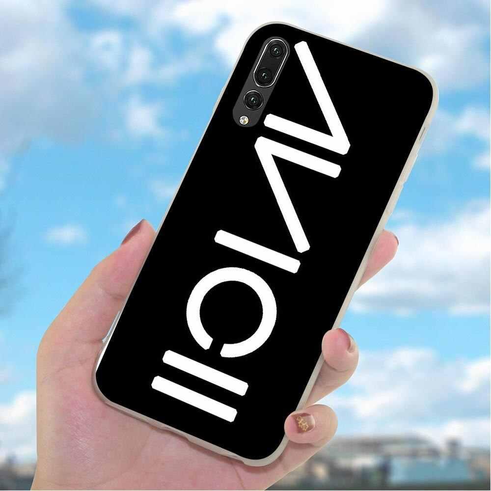Kulit Phone Case untuk HUAWEI Mate 20 Penutup P8 P9 P10 M20 Lite P20 P30 Pro P Smart Mate 10 lite DJ Avicii Ular