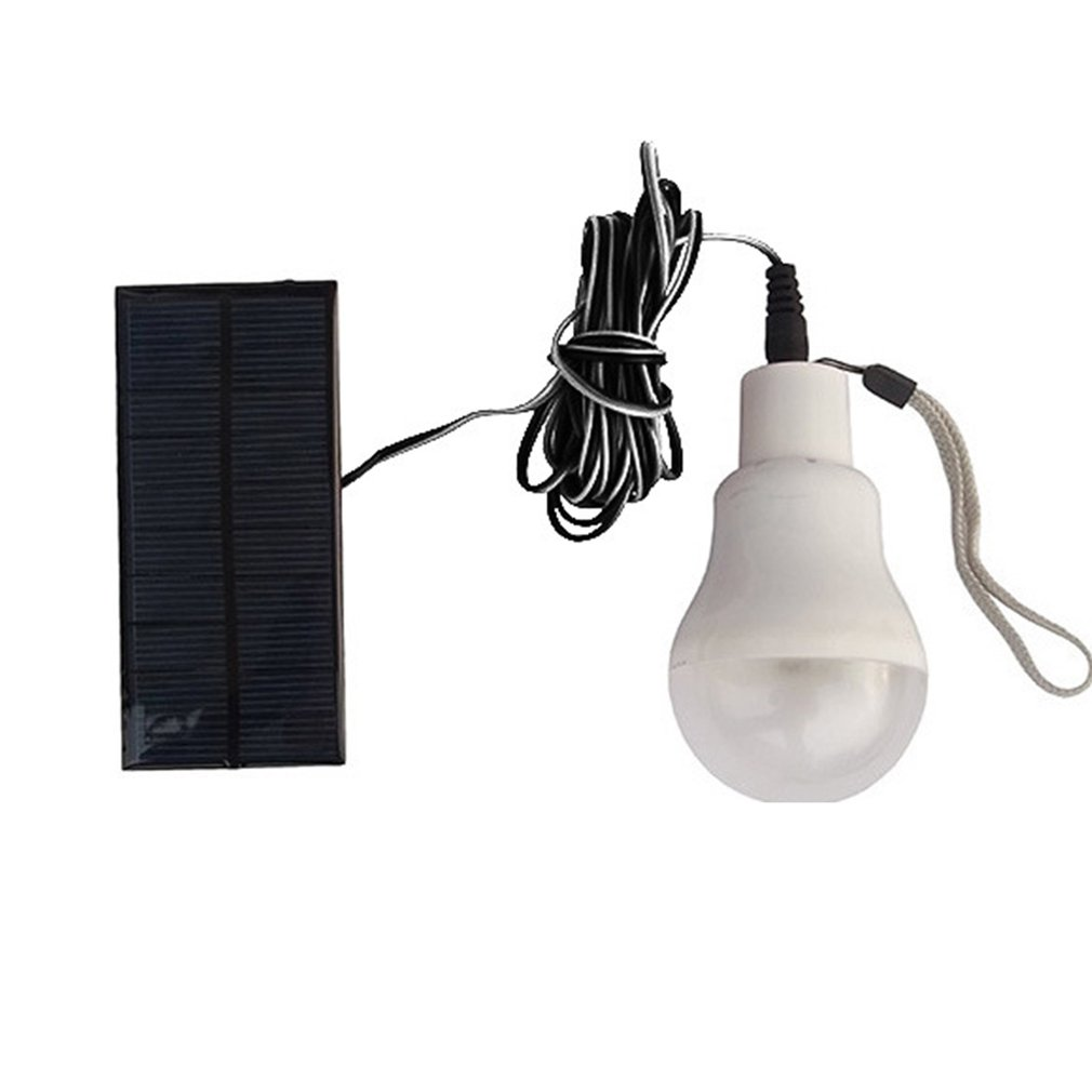 Outdoor Beach Garden Replacement Solar Power Led Emergency Light Bulb 3W