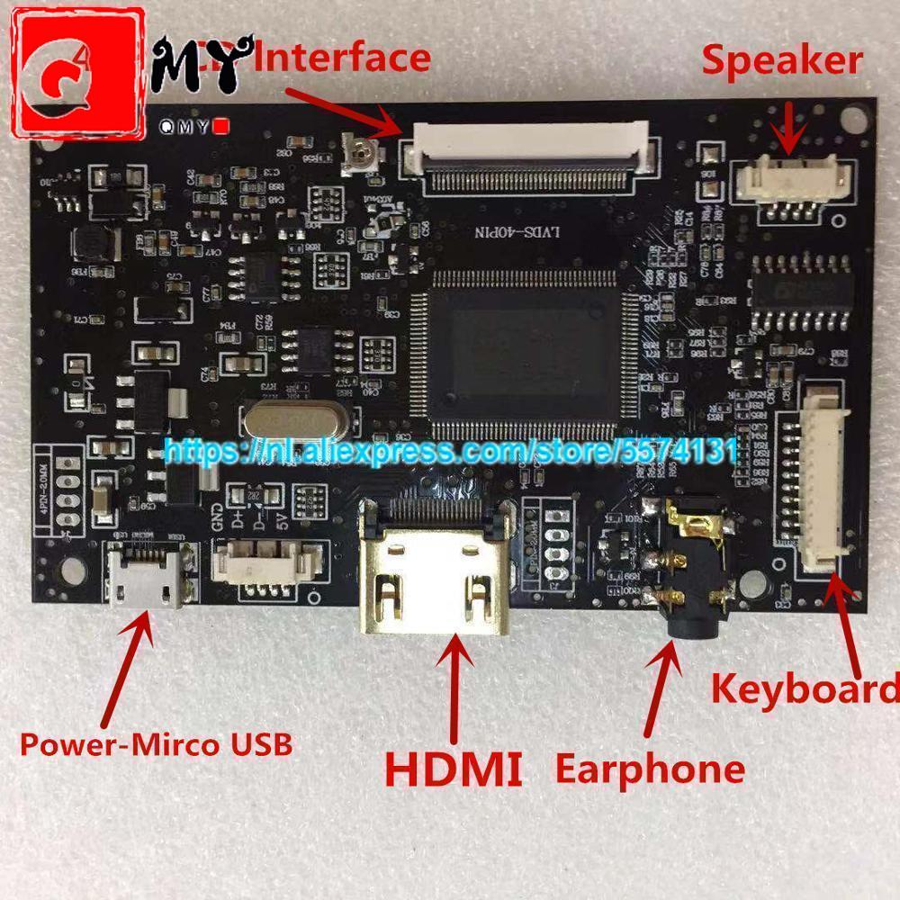 Srjtek AT070TN92 Driver Board Lcd-scherm Controller Hdmi Voor Innolux AT070TN90 AT090TN10 AT070TN93 AT080TN52 Micro Usb 50 Pins