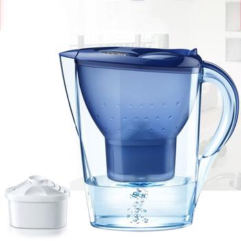 Filtr wody czajnik węgiel aktywny oczyszczacz wody dzbanek dzbanek na wodę dzbanek na wodę dzbanek na wodę kuchnia biuro Drink Water Tool tanie i dobre opinie 3 5 L KG54R-