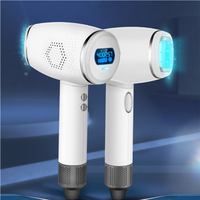 New Ice Point Ice Laser LCD Display 400,000 Hair Full Body Shaver Private Parts Hair Photon Hair Removal Equipment